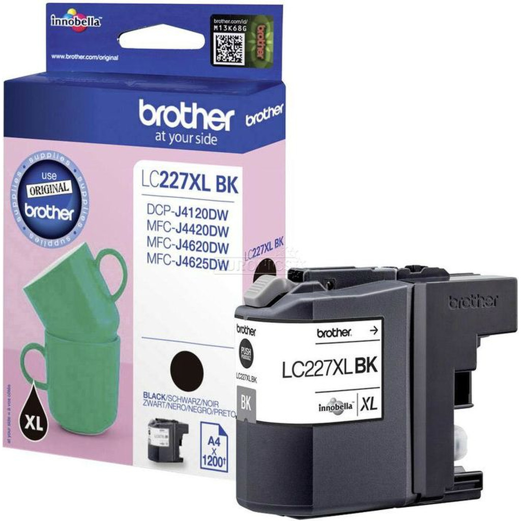 Tinta BROTHER LC-227XL Black original-0