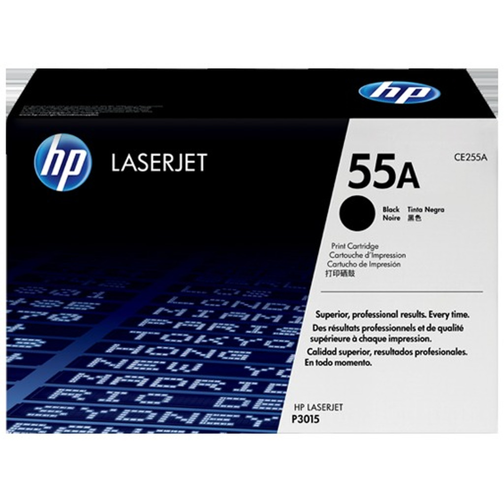 Toner HP CE255A No.55A-0