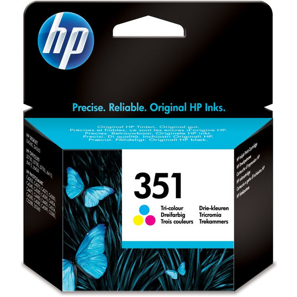 Tinta HP CB337EE Tri-color No.351-0