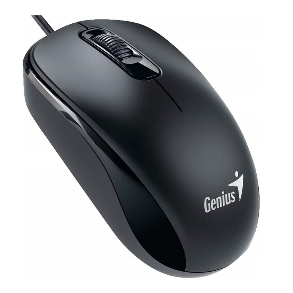 Miš GENIUS DX-110 Optical Mouse Black USB-0