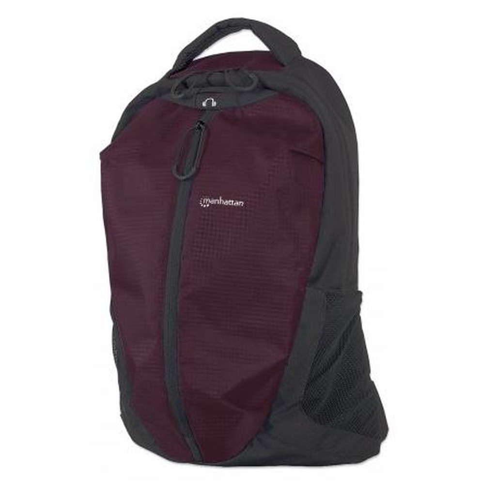 Torba MANHATTAN za notebook do 15.6'' Airpack (ruksak) -Black/Plum-0