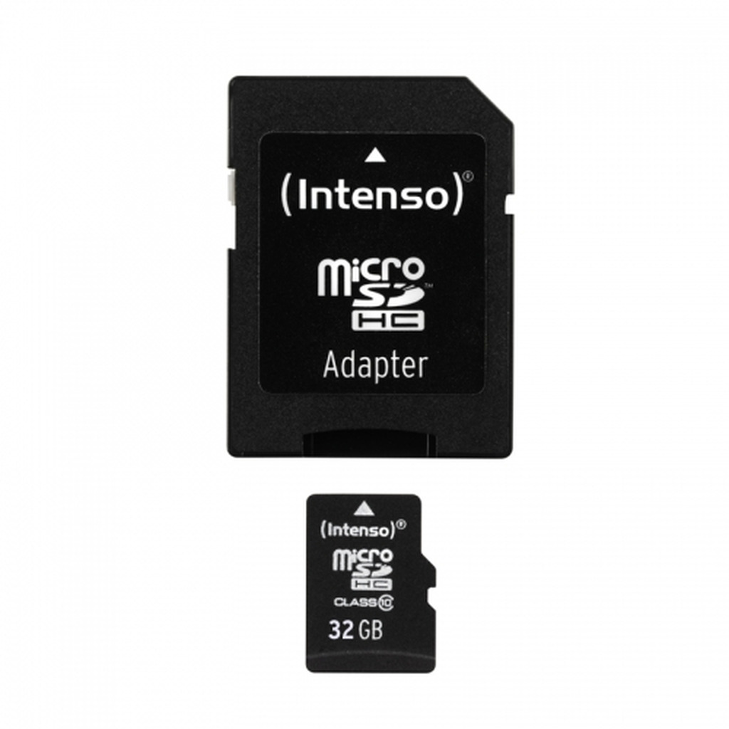 Memorijska kartica Micro Secure Digital  32GB INTENSO Class10 SDHC + Adapter-0