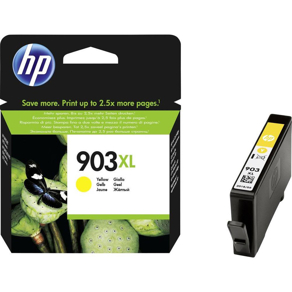 Tinta HP T6M11AE Yellow No.903XL original-0
